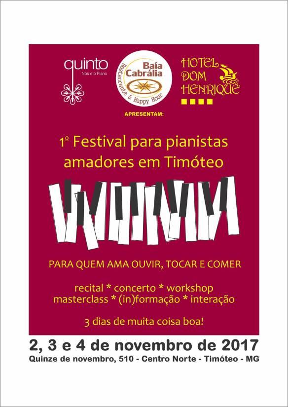 Cartaz Festival Timoteo